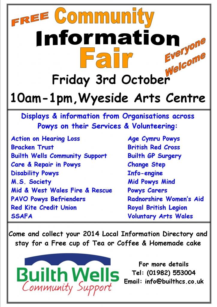 Info Fair Poster 2014
