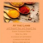 The Lamb Curry Night
