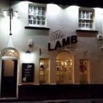 The Lamb Pub Front
