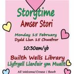 Storytime - Feb Half Term - Builth